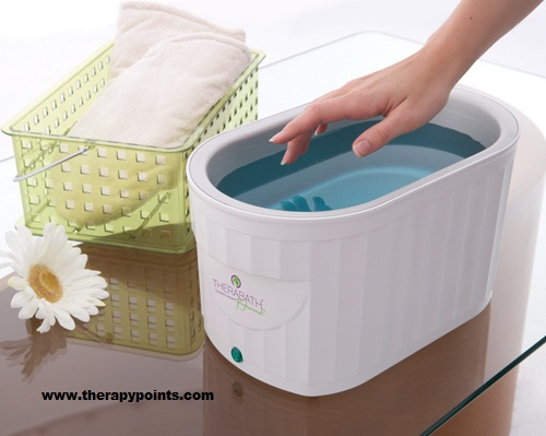 Wax therapy dip method